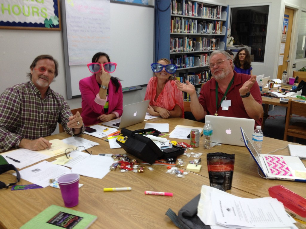 "High school science teachers getting into ""close reading."""